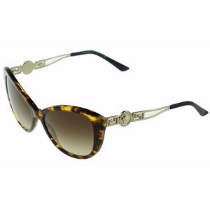 c82bbc376e0e Versace · Versace Cat Eye Plastic Sunglasses Frame Havana